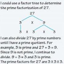 Determine example