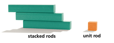Stacked Rods & Unit Rod