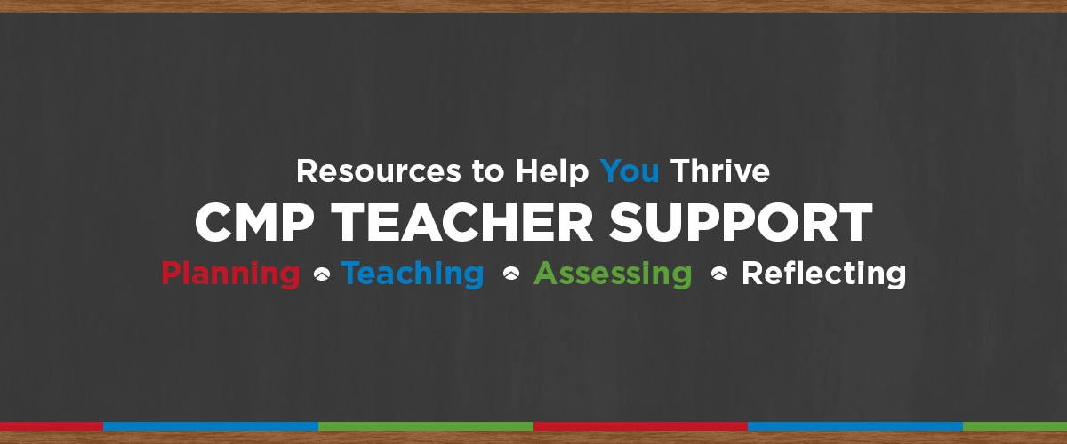 CMP Teacher Support