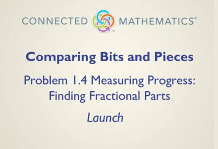 Comparing Bits and Pieces Problem 1.4